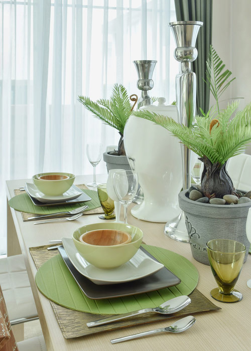 Celadon Green Placemats