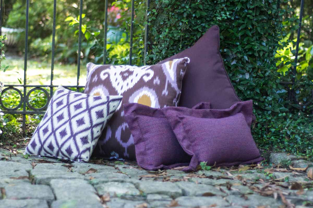 2018 Color of the Year Ultra Violet Throw Pillows
