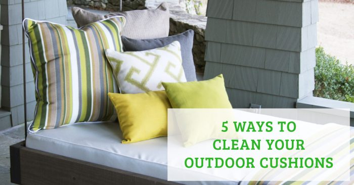 5 Ways To Clean Your Outdoor Cushions, How To Get Mold Spots Off Outdoor Cushions